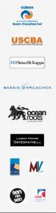 osteopathe COBAS USCBA BASSIN D ARCACHON OCEAN ROOTS LA TESTE DE BUCH SEN NO SEN moulleau village MV SFF surf federation francaise